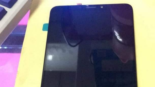 Так може виглядати  дисплей Xiaomi Mi Max 3