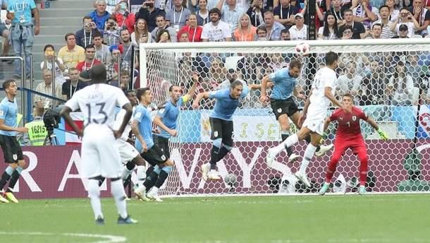 Уругвай – Франція відео голів матчу Чемпіонату світу
