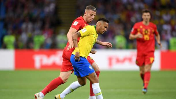 Бразилия – Бельгия видео голов матча ЧМ-2018