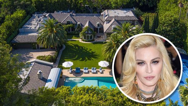 Мадонна продает роскошный дом в Беверли-Хиллз