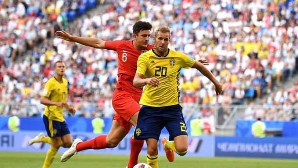 Англія – Швеція відео голів матчу ЧС-2018