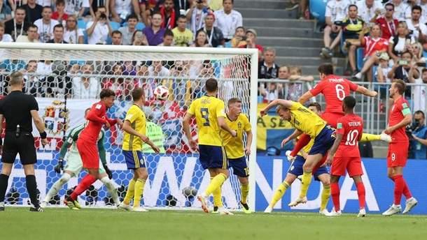 Англія – Швеція результат матчу ЧС-2018