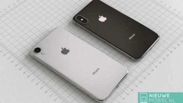 Вглобальной сети появились рендеры нового 6,1-дюймового iPhone