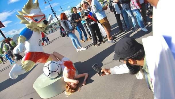 """Акция """"Весны"""" против репрессий и пыток в России"""