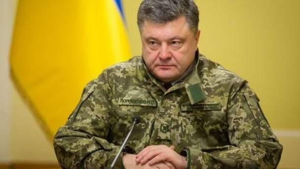 Порошенко сделал серьезное заявление о войне на Донбассе