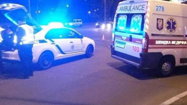 В Киеве на пересечении Бальзака и Драйзера столкнулись Opel и BMW: есть пострадавшие