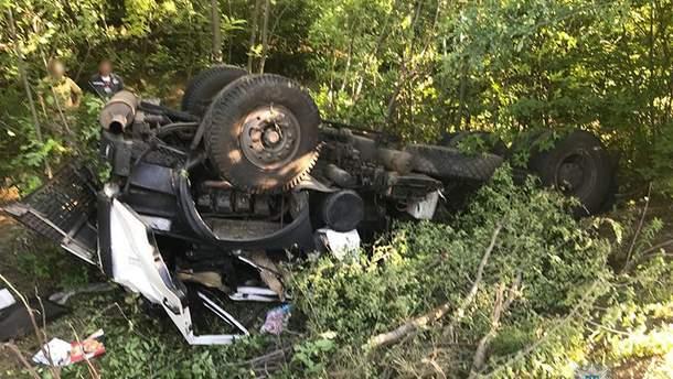 В Запорожской области в ДТП погиб военнослужащий