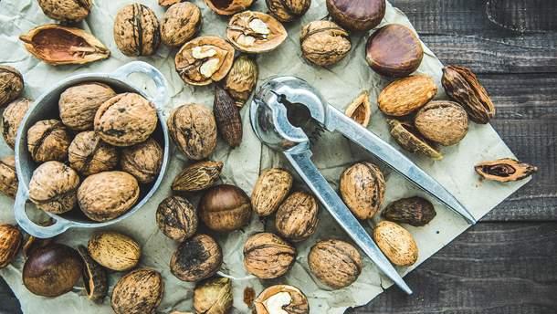 Орехи улучшают качество спермы