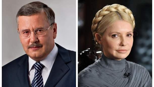 Гриценко запросив Тимошенко на дебати щодо зміни Конституції