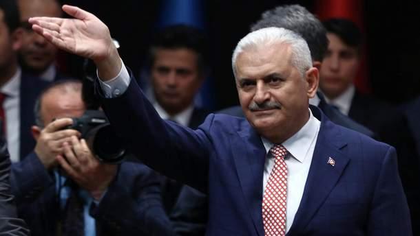 Прем'єр-міністр Туреччини Біналі Йилдирим