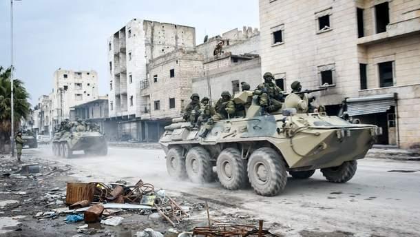 У Сирії воюють найманці ПВК, пов'язаної з МІноборони РФ
