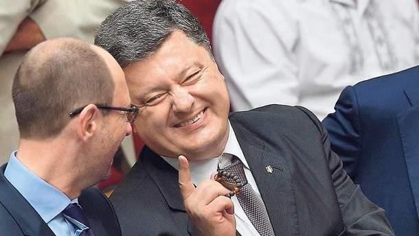 Порошенко не выгодно объединение с Яценюком?