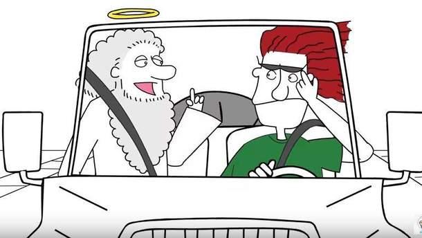 """DZIDZIO """"озвучил"""" Бога в серии социальных роликов"""
