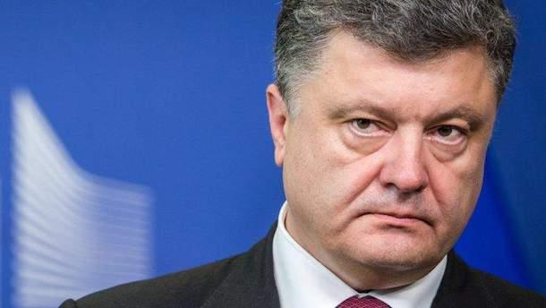"""Порошенко  приветствовал санкции против России и озвучил """"украинские"""" требования к Кремлю"""