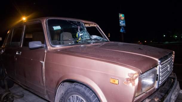 У Києві авто насмерть збило чоловіка