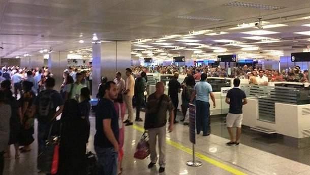 Украинские туристы застряли в аэропорту Вены