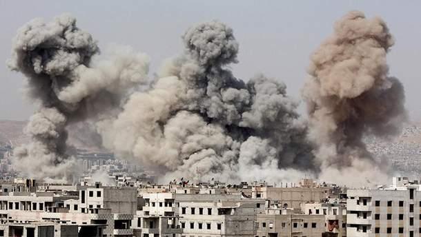 Армия обороны Израиля нанесла удар по Сирии