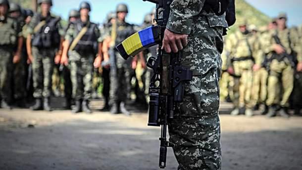 На Донбассе ранено украинского защитника