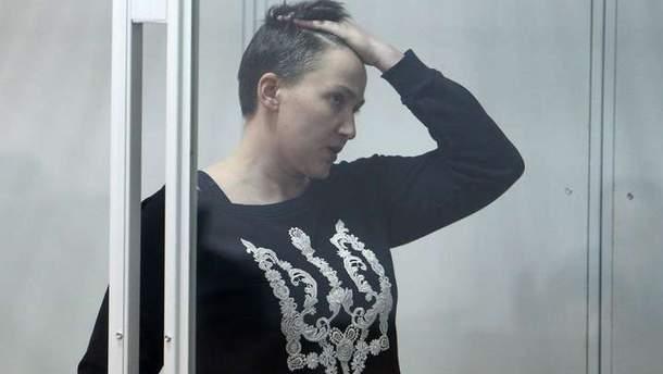 К Савченко впервые за 4 месяца посадили сокамерницу