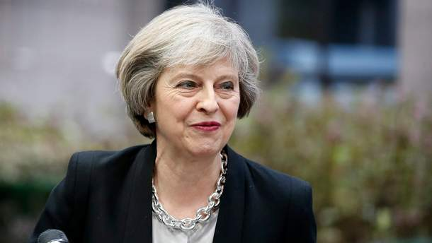 прем'єр-міністр Великобританії Тереза Мей