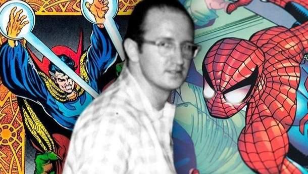 """Помер творець """"Людини-павука"""" Стів Дітко"""