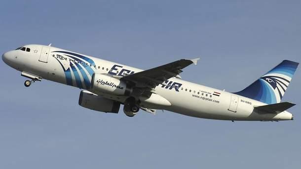 Літак Airbus A320-232 впав у Середземне море у травні 2016