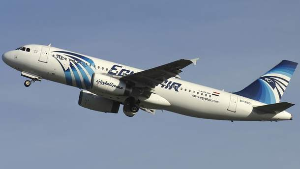 Самолет Airbus A320-232 упал в Средиземное море в мае 2016