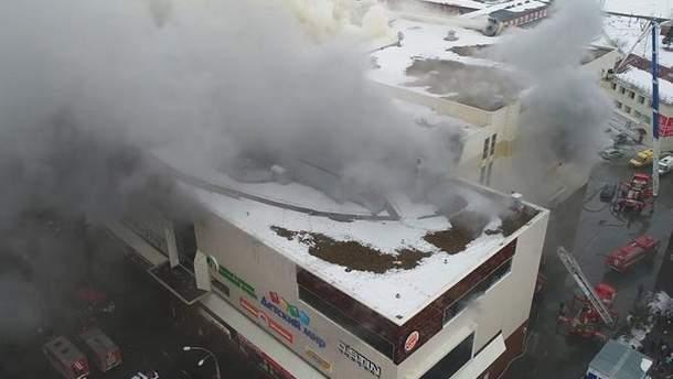 Пожежа в Кемерові