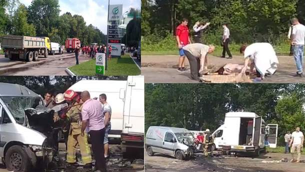 Аварія у Чернівецькій області