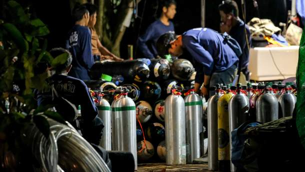 Операція з порятунку дітей у Таїланді почалася