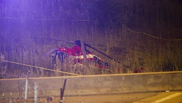 Четверо осіб госпіталізовано після аварійної посадки медичного вертольота