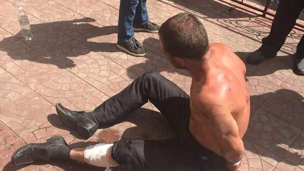 8 июля в Оболонском районе Киева полиция устроила погоню со стрельбой за подозрительным мужчиной