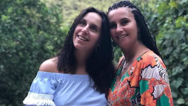 Джамала с сестрой Эвелиной