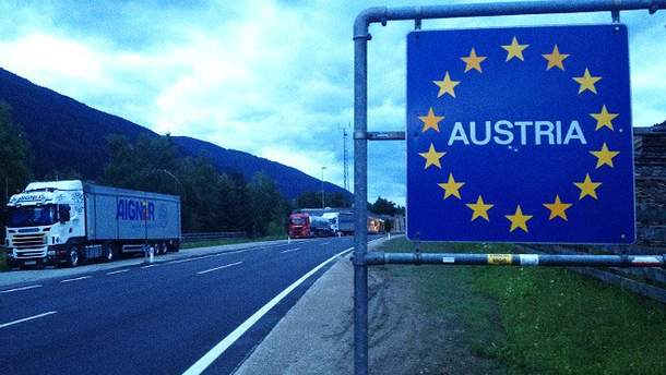 В Австрії ввели тимчасовий прикордонний контроль