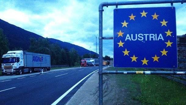 В Австрии ввели временный пограничный контроль