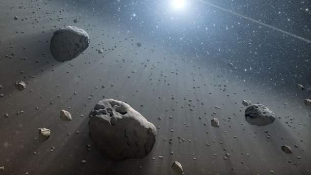Астероїди раніше були частинами  планетам