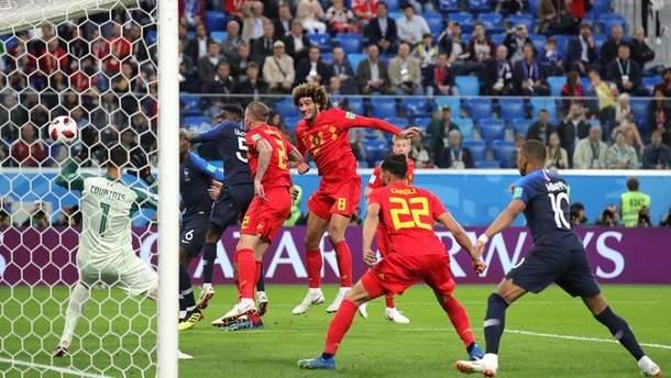 Франция – Бельгия видео голов матча Чемпионата мира 2018