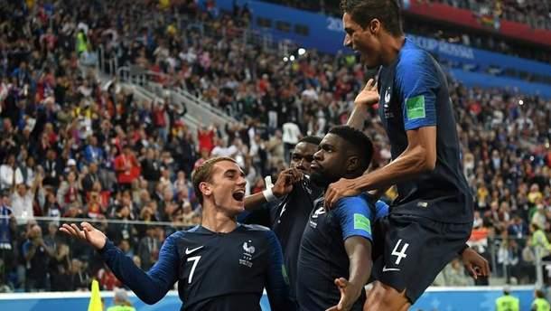 Франція – Бельгія результат матчі Чемпіонату світу