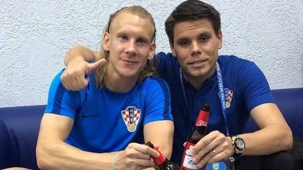"""Футболісти  Огнєн Вукоєвич та Домагой Віда виклали в Instagram відео, на якому лунає """"Слава Україні!"""""""
