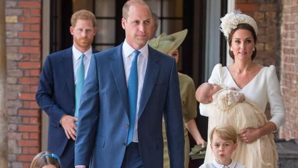 Крещение принца Луи – сына Кейт Миддлтон и принца Уильяма