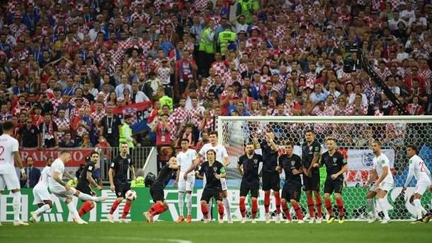 Хорватія – Англія відео голів матчу Чемпіонату світу