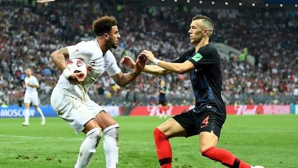 Англия - Хорватия результат матча