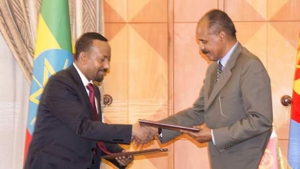 Мирное соглашение между Эфиопией и Эритреей