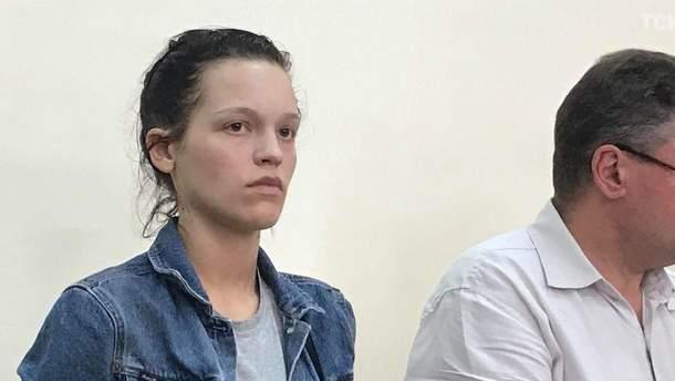 """Суд оголосив вирок нападниці на """"кіборга"""" Вербича Катерині Лапінській"""