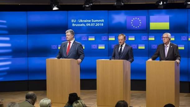 Порошенко назвав суму збитків, завданих Україні російською агресією