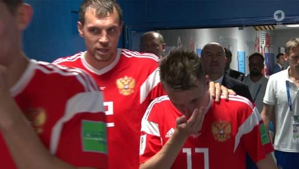 Сборную России подозревают в вдыхании аммиака на мачте четвертьфинала ЧМ-2018