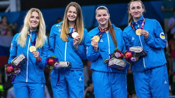 Жіноча збірна України з фехтування