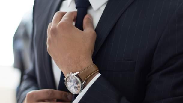 Краватка небезпечна для здоров'я чоловіків