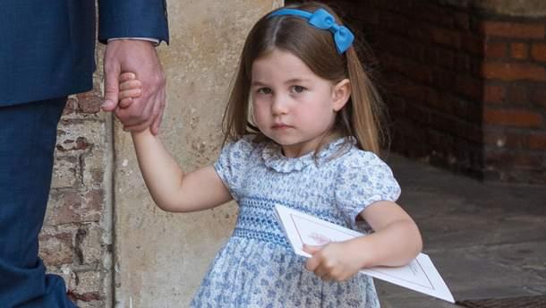 Принцеса Шарлотта звернулась журналістів з різким коментарем