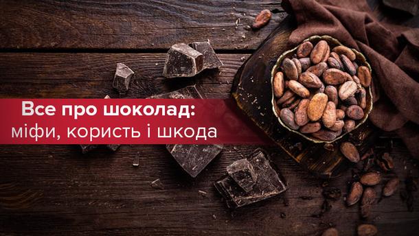 Мифы, польза и вред шоколада